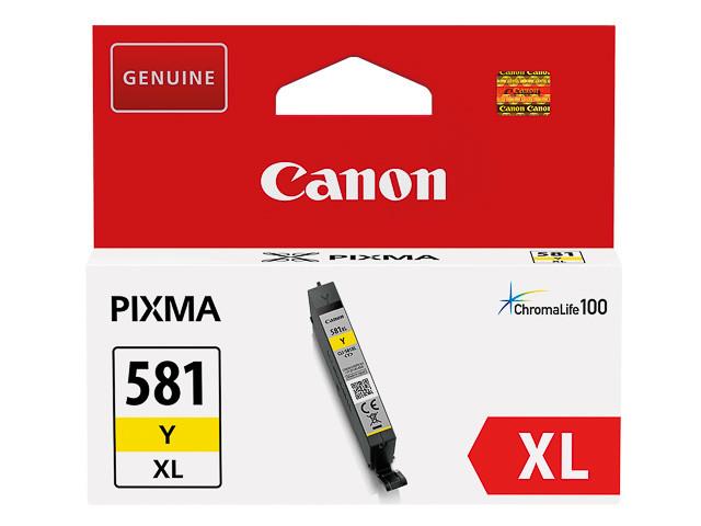 Canon CLI-581 XL Y geel
