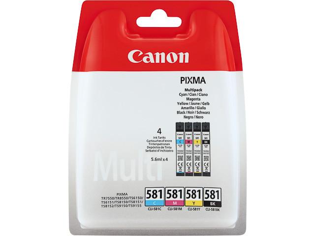 Canon CLI-581 C-M-Y-BK Multi Pack