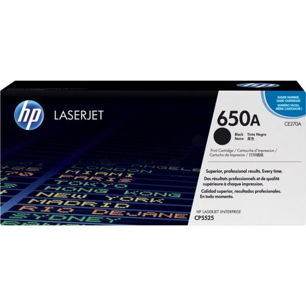 TONERCARTRIDGE HP 650A CE270A 13.5K ZWART