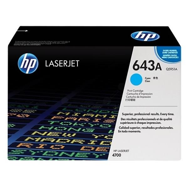 TONERCARTRIDGE HP 643A Q5951A 10K BLAUW