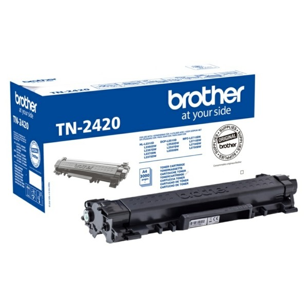 Brother TN-2420 Laser cartridge 3000pagina's toners & lasercartridge