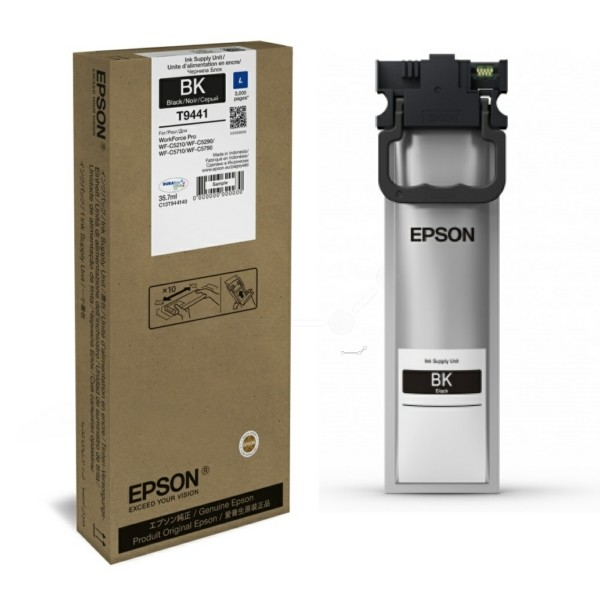 Epson C13T944140 T9441 Inktcartridge zwart