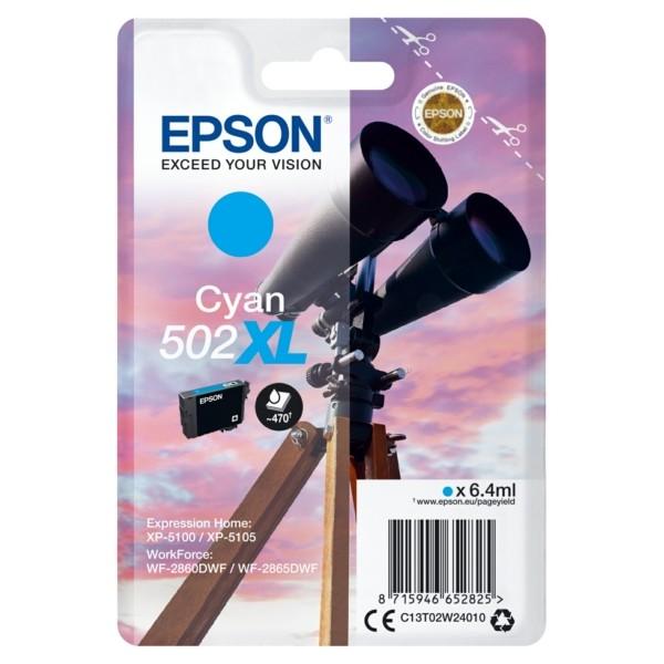 C13T02W24010 EPSON XP5100 TINTE CYAN HC