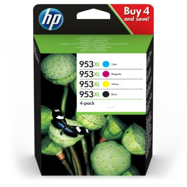 HP ORIGINAL INK CARTRIDGE 4-PACK
