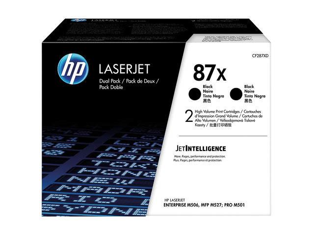 HP 87X 18000pagina's