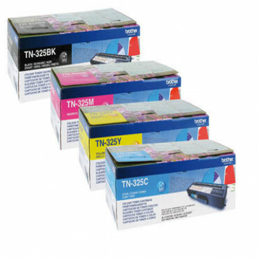 Brother Rainbowkit (CMYK) TN325BK, TN325C, TN325M, TN325Y