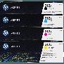 HP 312A Rainbowkit (CMYK) CF380X, CF381A, CF382A, CF383A