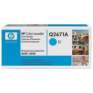TONERCARTRIDGE HP 309A Q2671A 4K BLAUW