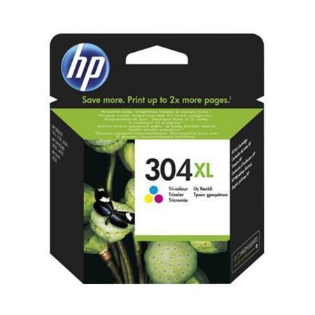 HP 304XL Tri-Colour Original High Capacity Ink Cartridge